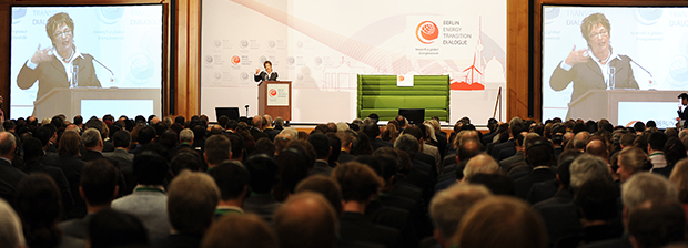 Economic Affairs Minister Brigitte Zypries at the opening event of the Berlin Energy Transition Dialogue (BETD)