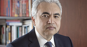 Dr Fatih Birol, Executive Director of the International Energy Agency (IEA)