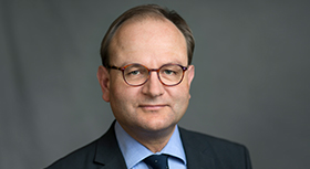 Prof. Dr. Ottmar Edenhofer, deputy director and chief economist of the Potsdam Institute for Climate Impact Research.