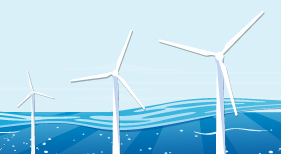 Expansion of offshore wind energy making good progress.