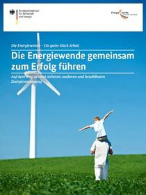 Cover der Publikation Die Energiewende gemeinsam zum Erfolg führen
