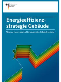 """Cover der Publikation """"Energieeffizienzstrategie Gebäude"""""""