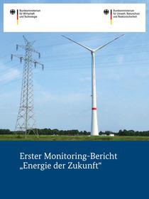 "Cover der Publikation Erster Monitoring-Bericht ""Energie der Zukunft"""