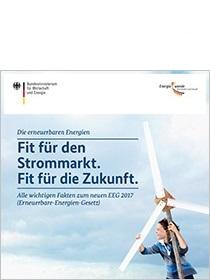 Cover der Publikation Fit für den Strommarkt. Fit für die Zukunft.