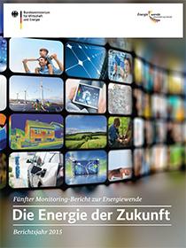 Cover der Publikation Fünfter Monitoring-Bericht Energie der Zukunft (Langfassung)