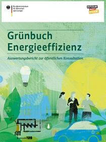 Cover der Publikation Grünbuch Energieeffizienz
