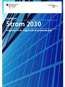 Cover der Publikation Impulspapier - Strom 2030