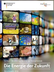 Cover der Publikation Sechster Monitoring-Bericht zur Energiewende