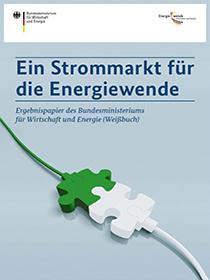 Cover der Publikation Ein Strommarkt für die Energiewende
