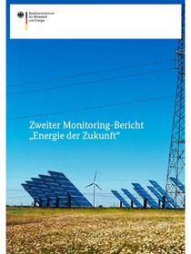 """Cover der Publikation Zweiter Monitoring-Bericht """"Energie der Zukunft"""""""
