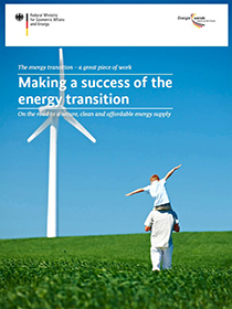 "Cover ""Making a success of the energy transition"""